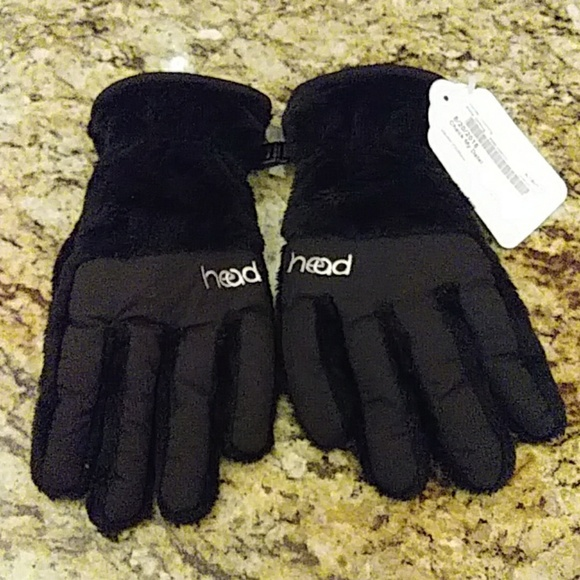 Head Accessories - Head Faux Fur Lined Gloves